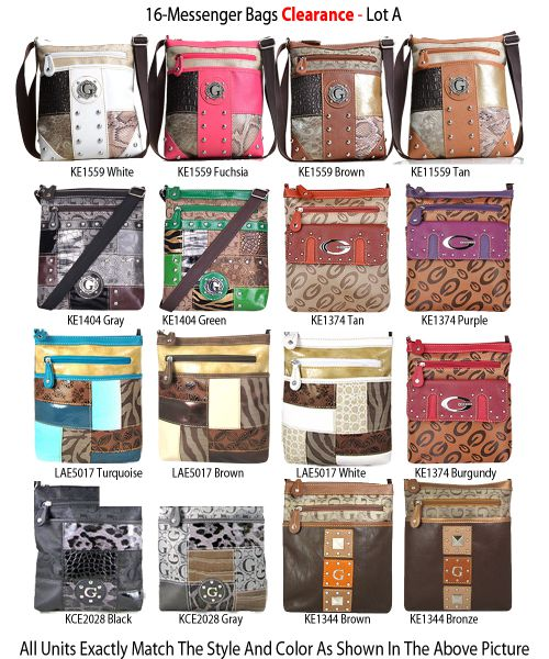 16 Messenger Bags - Clearance Lot A