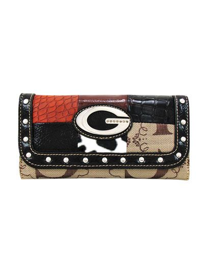Brown G-Style Wallet - KW170