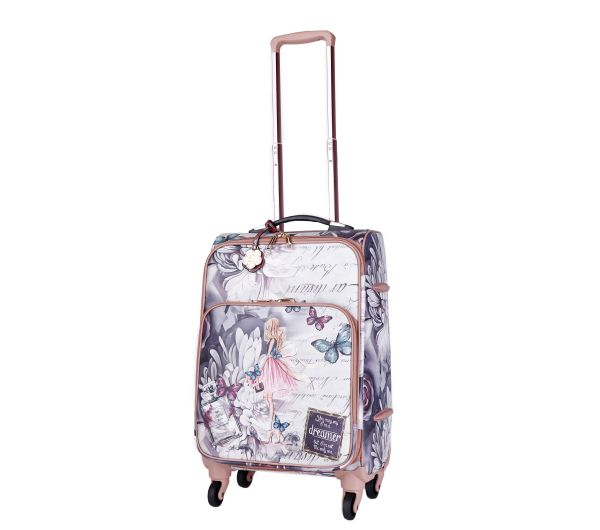 Burgundy Arosa Dreamers Carry-On Luggage Roller - BFL6999