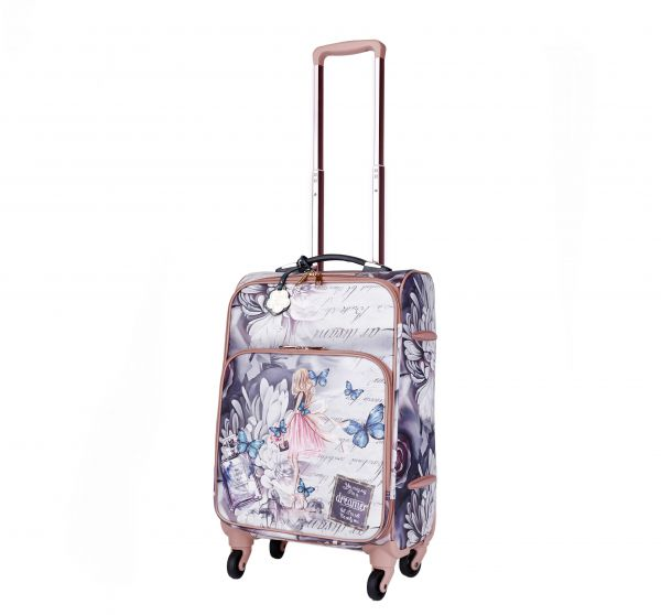 Blue Arosa Dreamers Carry-On Luggage Roller - BFL6999