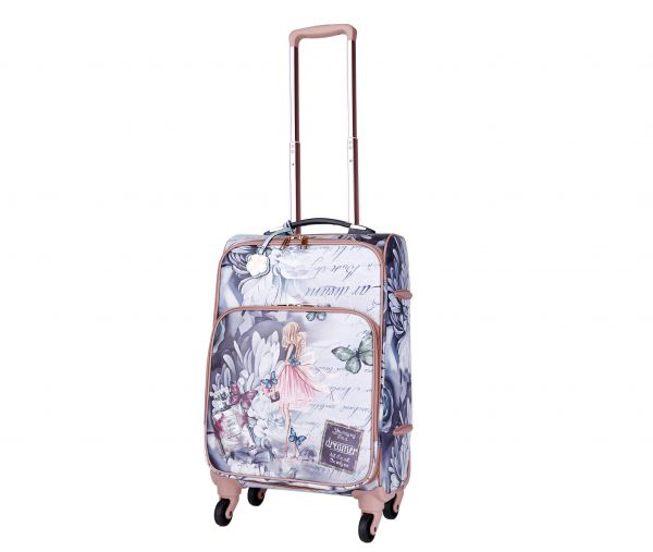 Green Arosa Dreamers Carry-On Luggage Roller - BFL6999