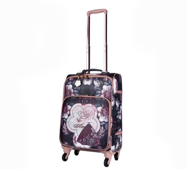 Black Arosa Dreamers Carry-On Luggage Roller - BGL6999