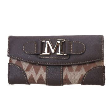 Brown M-Style Wallet - KW269