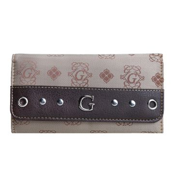 Brown G-Style Wallet - KW287