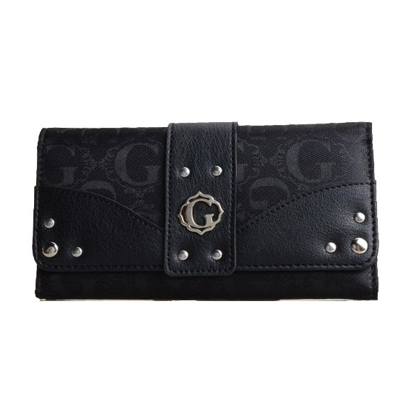 Black Signature Style Wallet - KW333