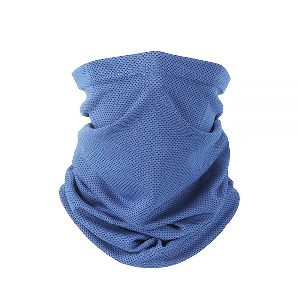Blue Half Face Dust Mask & wear in different ways - TS01